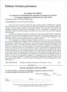 Roman Glières Présentation I